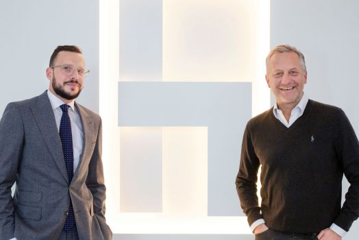 Maxime Hubin-Dedenys (Marketing Director Opel Austria) und Karl Heinz Pacher (CEO Havas Wien)