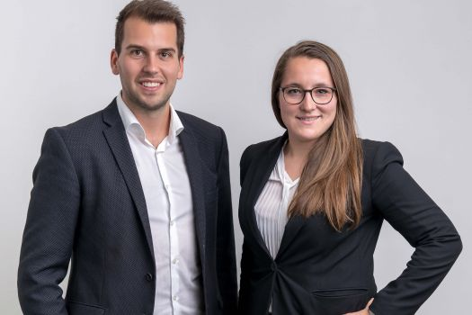 Michael Litschka (CEO ML Marketing) und Michaela Markowski (Head of ML Media)