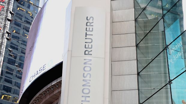 Thomson Reuters mit sattem Plus