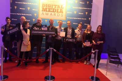 Highlight des ersten Konferenz-Tages war die Verleihung der European Digital Media Awards.