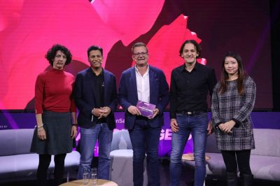 Evelyne Leveke (eCommerce Business Development Manager), Hans Peter Ressel (Momentum Commerce, Founder & CEO),
